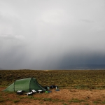 nach dem Gewitter im Great Divide Basin